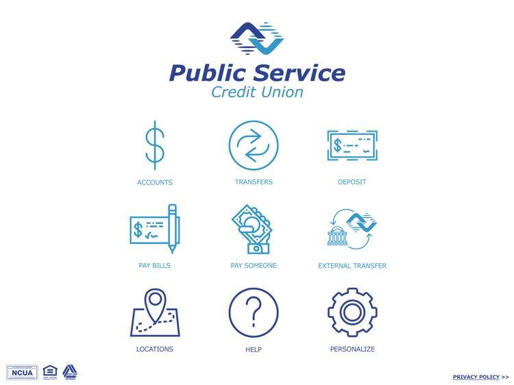 Public Service CU Mobile for iPad