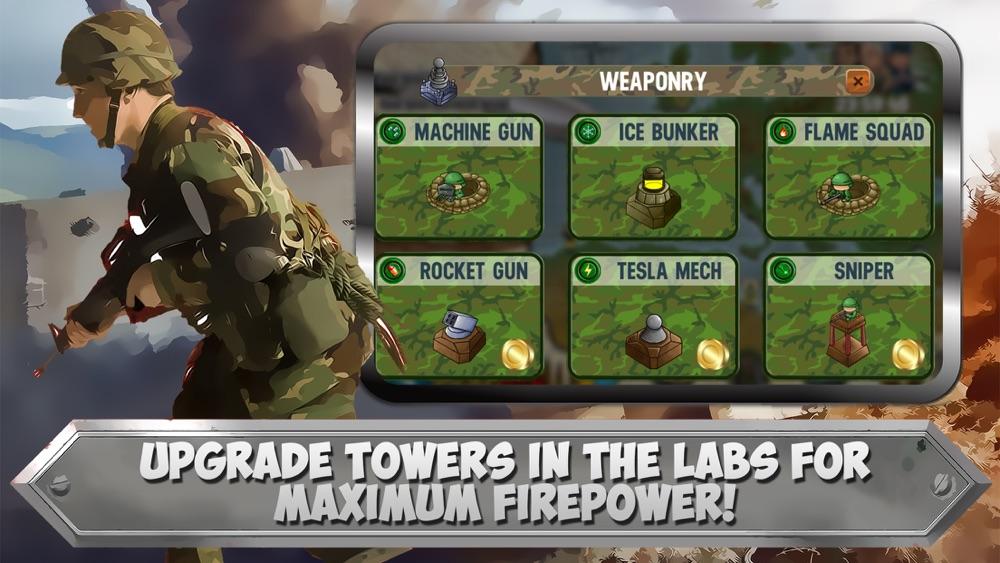 WW2 Battlefield: Tower Defense Frontline Commando hack tool