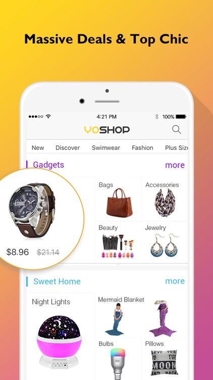 YoShop: Top Fashion, New Electronics, DAILY Sales screenshot-4