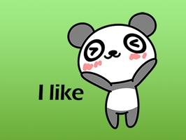 Popo The Cute Panda Stickers
