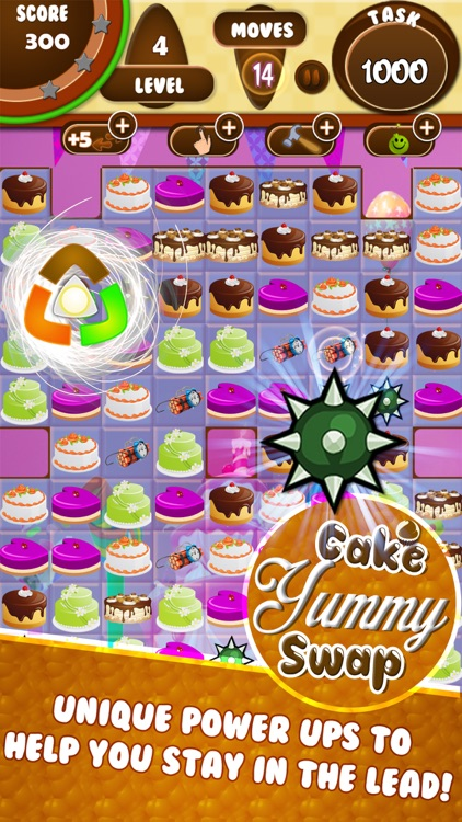 yummy cake match 3 screenshot-3