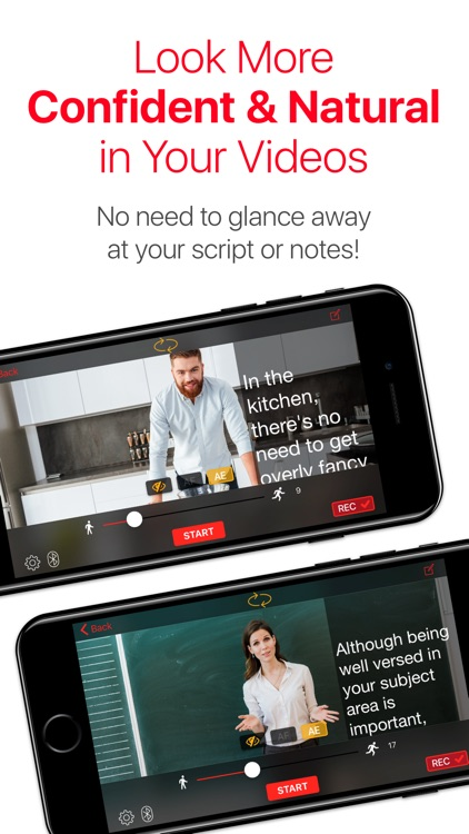 Video Teleprompter Lite – Better Scripted Videos