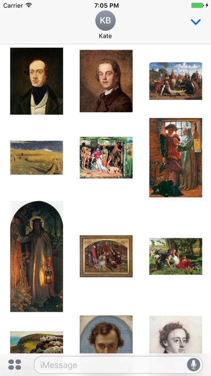 William Holman Hunt Artworks Stickers