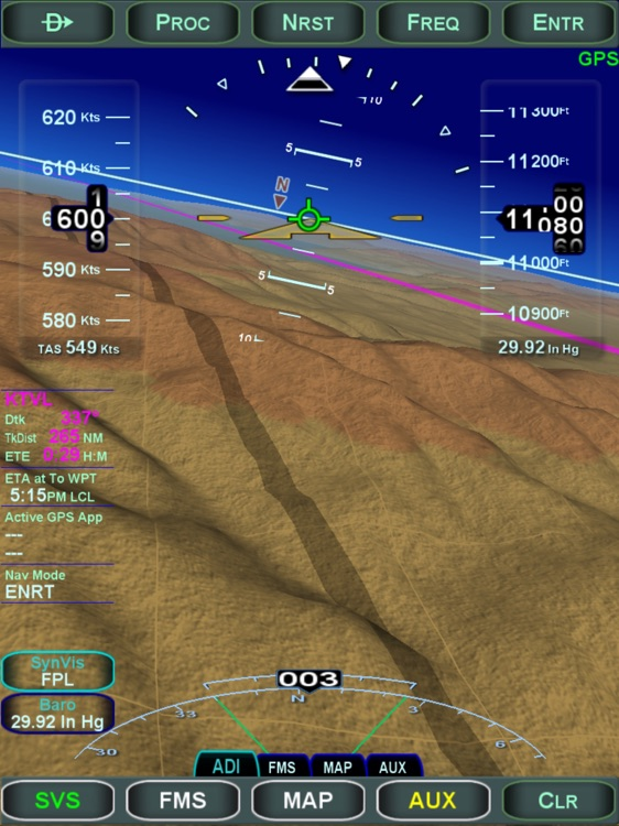 Avidyne IFD100 screenshot-0