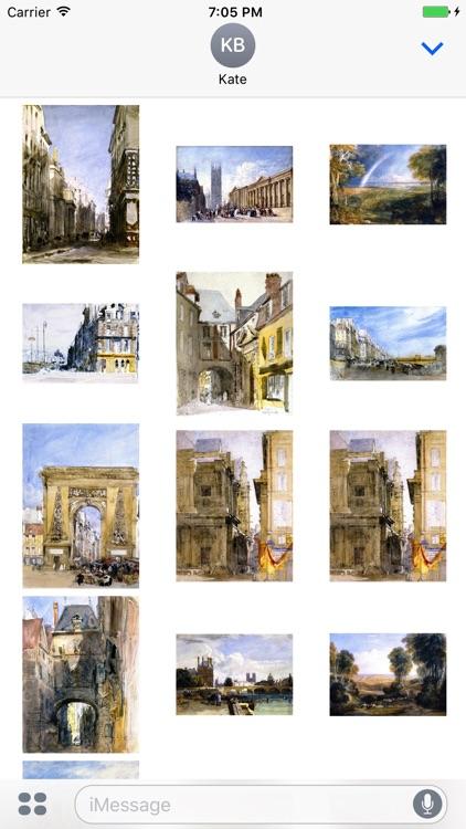 David Cox - Artworks Stickers