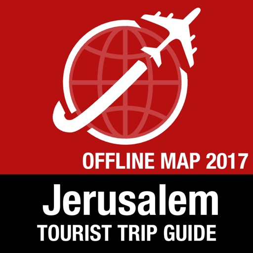 Jerusalem Tourist Guide + Offline Map