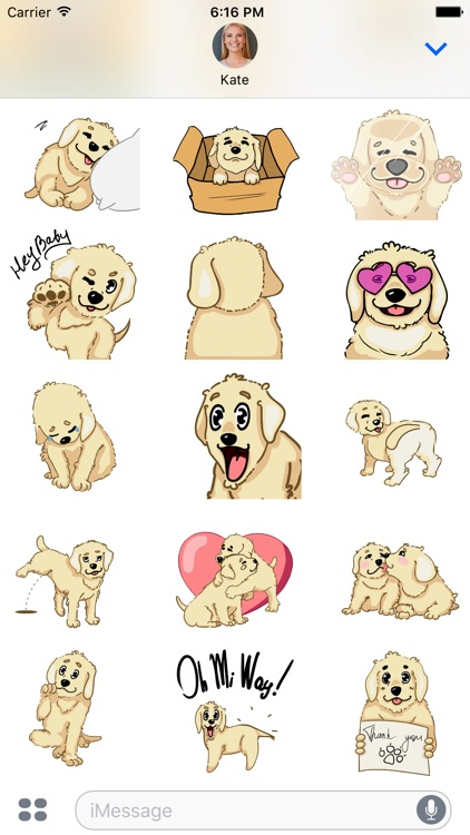Larry the Lab - Animated Stickers screenshot-3