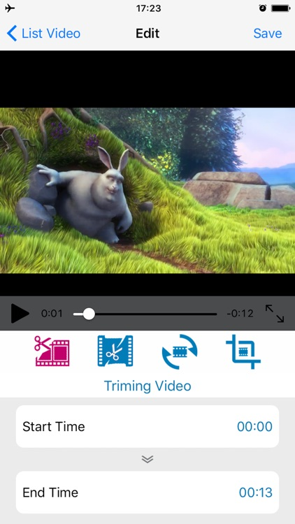 vizoEdit - The simplest video editing tool
