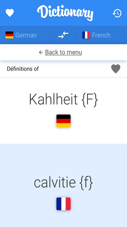Français - Allemand Dictionnaire de poche Offline screenshot-3