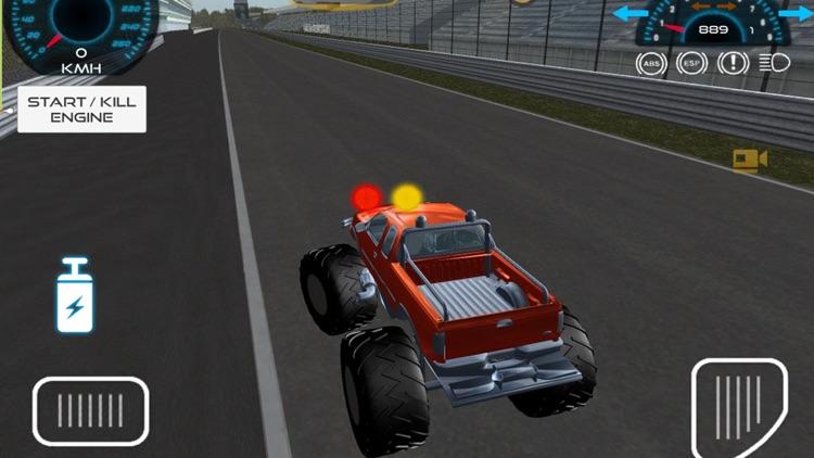 Monster Truck vs Formula Cars Pro screenshot-3