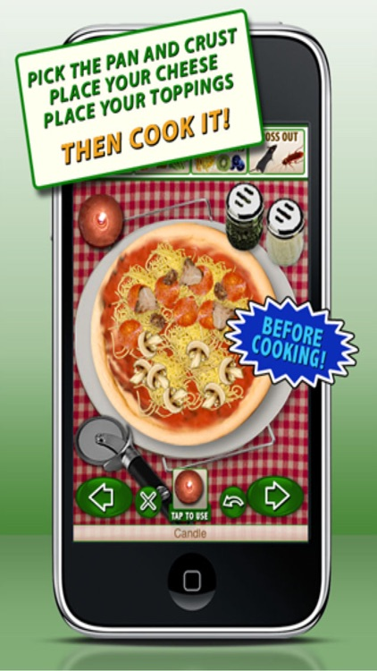Pizza Maker Games - Make & Eat Crazy Fun Pizzas