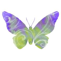 Spring Butterflies Sticker Pack