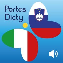 PortosDicty frasi utili italiano-sloveno con audio madrelingua /Uporabne italijansko slovenske fraze