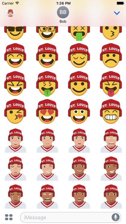 St. Louis Baseball Stickers & Emojis screenshot-3