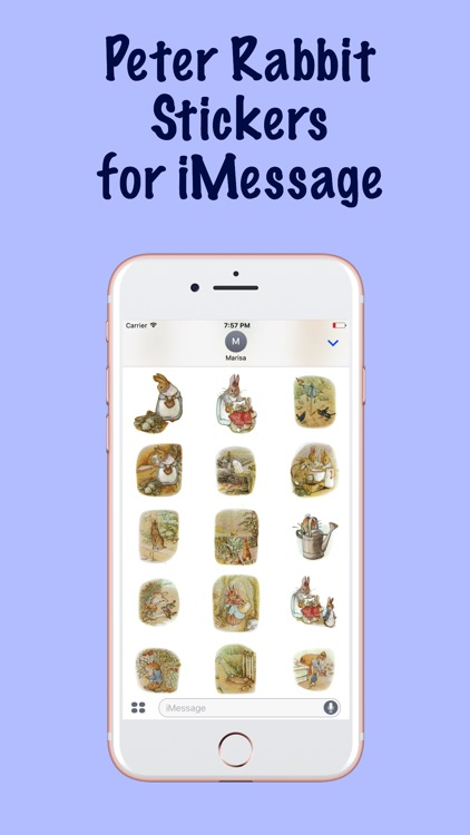 Peter Rabbit Stickers for iMessage