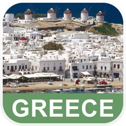 Greece Offline Map - PLACE STARS