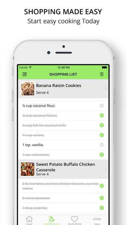 Paleo Meal Plans   Caveman Diet Recipes screenshot-4