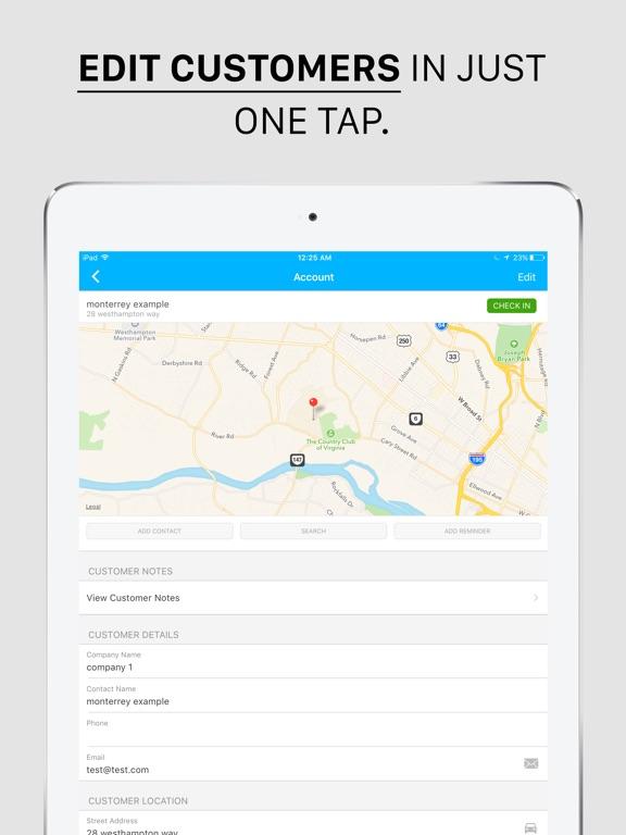 Map My Customers - Sales CRM Screenshots