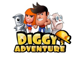Get Brand New Stickers of your favourite characters from Diggy's Adventure