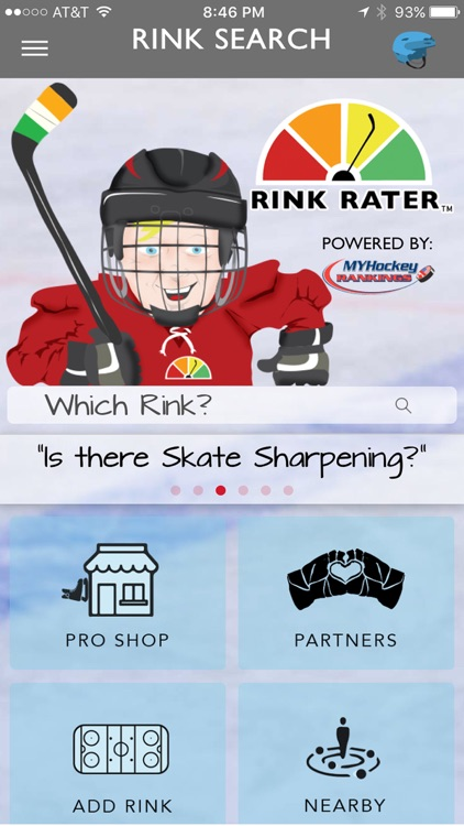 Rink Rater - Hockey Rink Reviews by YOU.
