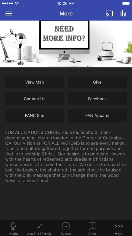 For All Nations Church