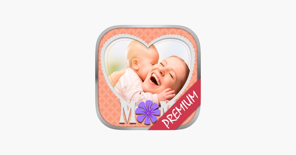 Muttertags-Bilderrahmen für das Album - Pro im App Store