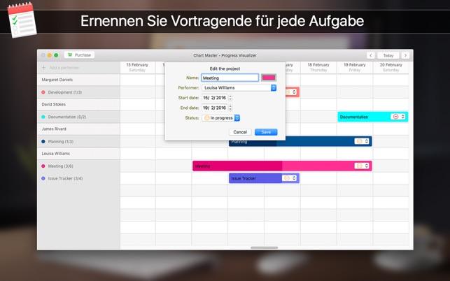 Chart Master - Fortschritt Verfolgen Screenshot