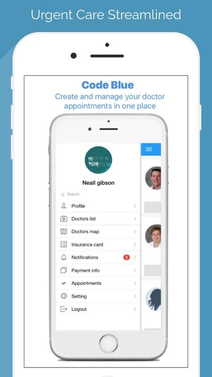 Code Blue HealthApp