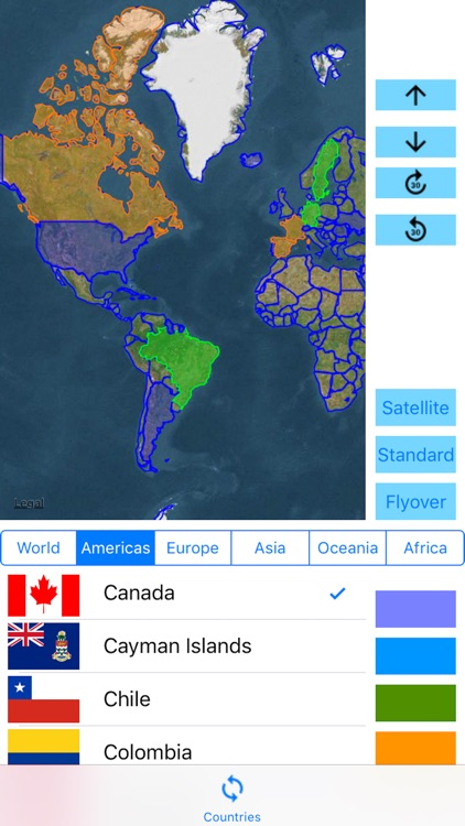 3D Visited Countries screenshot-1