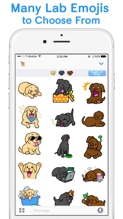 LabLoversMoji - Labrador Retriever Emoji Stickers screenshot-3