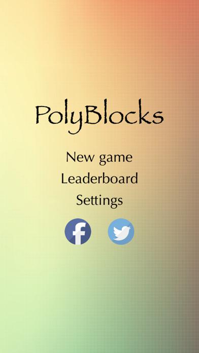 PolyBlocks screenshot one