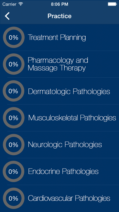 Massage Therapy Exam Prep 2018 screenshot two