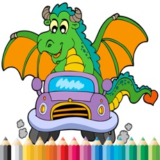 Activities of Dragon Coloring Book - Activities for Kid