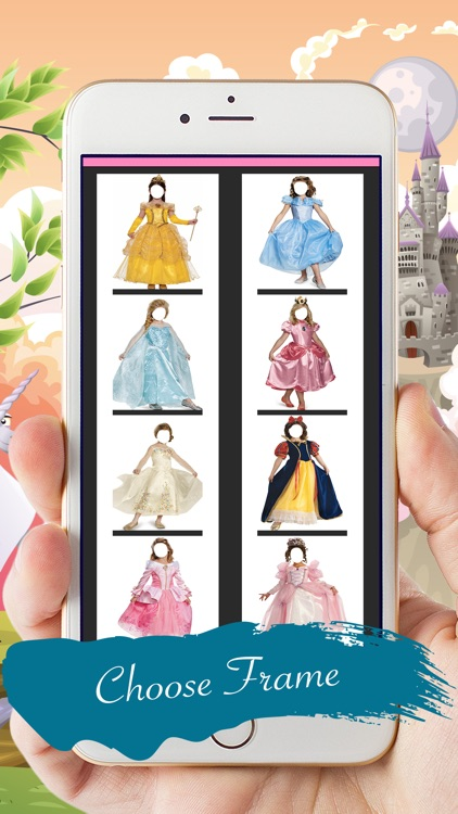 Fairy Tales Princess Photo Montage