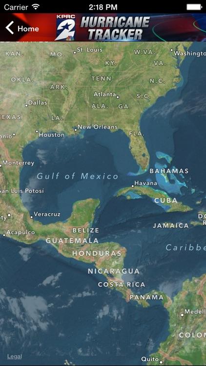 KPRC Hurricane Tracker