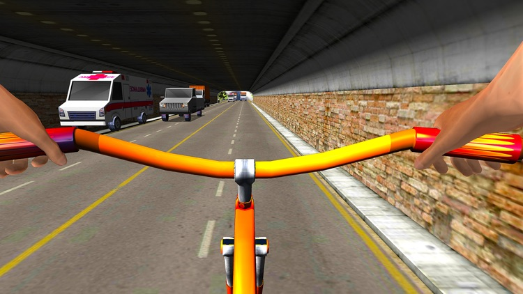 Bicycle Racing Stunt Game 2017 screenshot-3