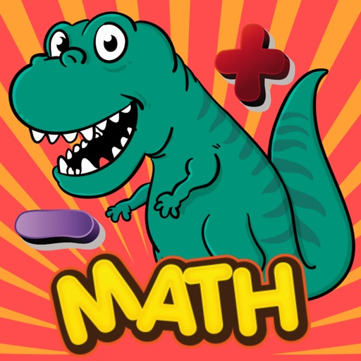 Dinosaur Math Problems Games 2nd Grade Fast Math iOS App