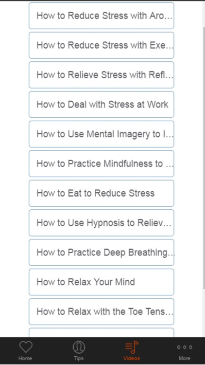 How to Relieve Stress and Relax screenshot-4