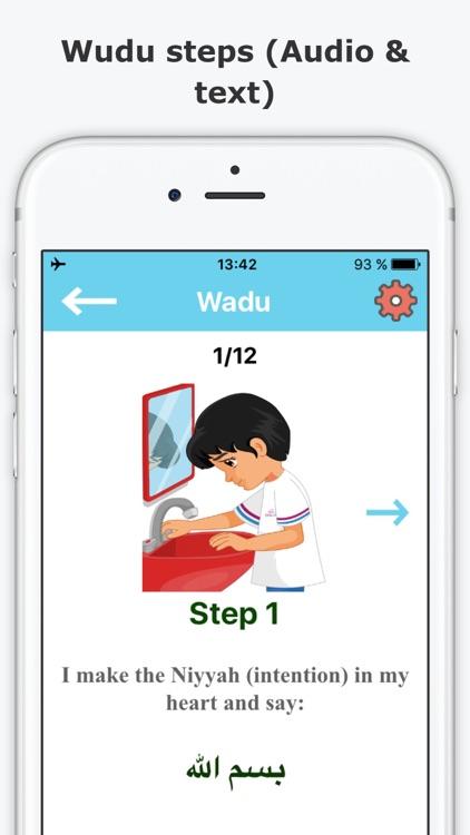 Muslim kids guide: Salah & Wudu Prayer & Ablution
