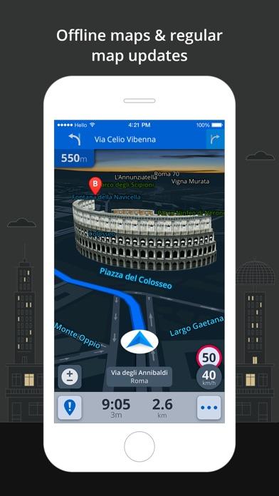 Screenshot #7 for Sygic World: GPS Navigation, Maps & Traffic