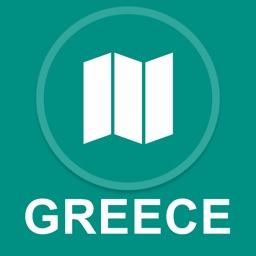 Greece : Offline GPS Navigation
