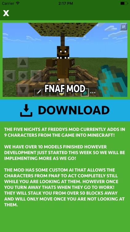 FNAF ADDONS FOR MINECRAFT POCKET EDITION (PE) screenshot-4