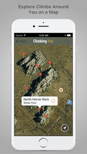 Joshua Tree Rock Climbing Screenshot