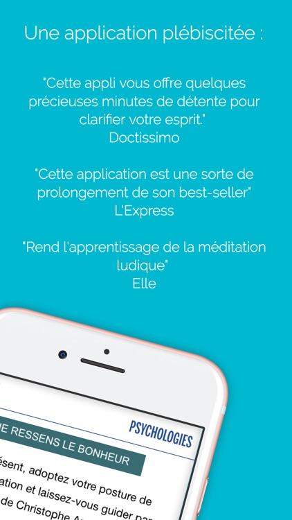 Méditations avec Christophe André screenshot-4