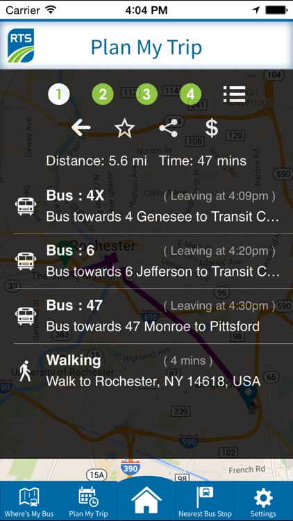 RTS Bus App
