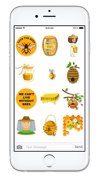 Save The Bees Sticker Pack screenshot-2