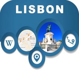 Lisbon Portugal City Offline Map Navigation EGATE