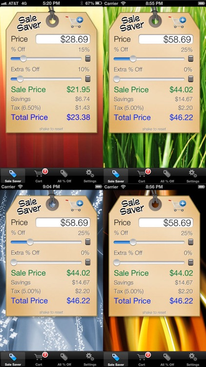Sale Saver - Percent Off / Shopping Calculator