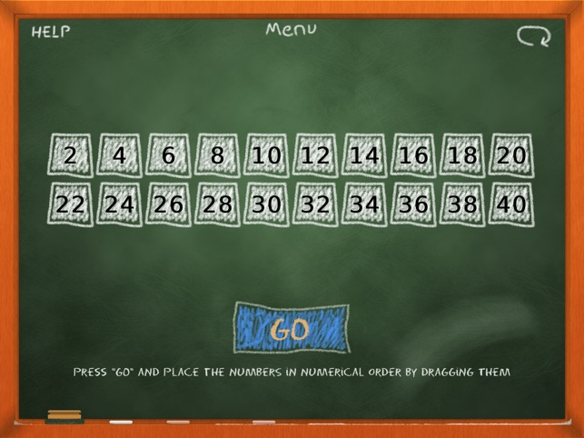 Chalk School: Skip Counting - Number Order Screenshot