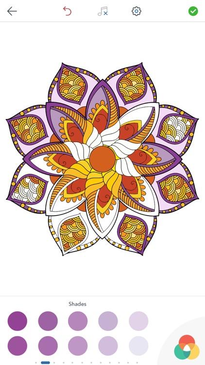 Magic Mandalas - Coloring Book for Adults screenshot-3